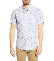 men's bonobos riviera floral print slim fit button-down shirt