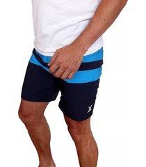 pantaloneta hurley phantom blackball para hombre - azul