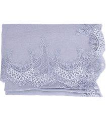 lace border shawl