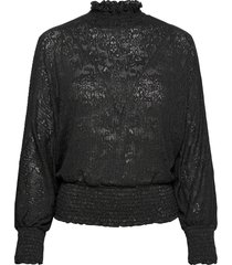 bxphilou blouse blus långärmad svart b.young