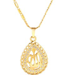 classico allah mohammed collana gioielli religiosi islamici islam ciondoli collane per uomo donna