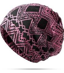 berretto beanie in cotone da viaggio d'autunno e inverno berretto bonnet uso per scialle