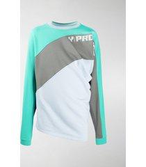 y/project colour-block sweatshirt