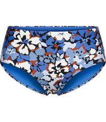 thrift shop wide side retro bikinitrosa blå seafolly