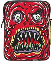 moschino para para notebook monster - vermelho