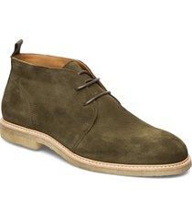 org.64 desert boots snörskor grön playboy footwear