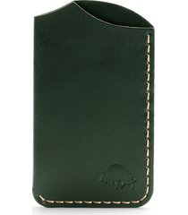ezra arthur no. 1 leather card case in green at nordstrom