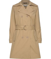 jiaiw trenchcoat trench coat rock beige inwear