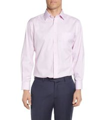 men's big & tall nordstrom smartcare(tm) traditional fit dress shirt, size 16.5 - 38/39 - pink