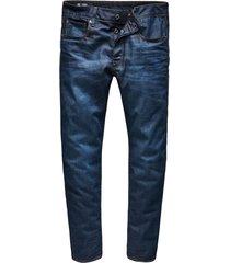 jeans 3301 straight fit dark aged (51002-4639-89n)