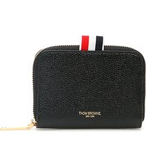 thom browne zip-around wallet