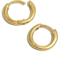 women's madewell skinny huggie hoop earrings