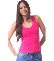 blusa color bright rose bocared para dama atletica mariposa en jersey licra  afrodita