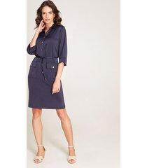 vestido camisero azul 10