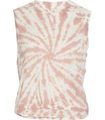 free people women's tie dye love yoga tank top - fireside combo x-small cotton