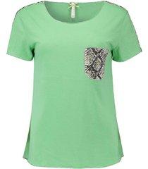 t-shirt emilia groen