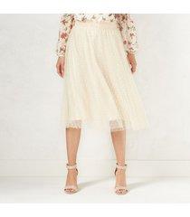 lauren conrad disney snow white collection swiss dot tulle skirt  s-m-l-xl  new