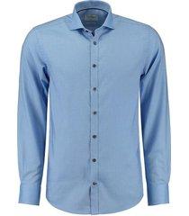 overhemd barlow slimfit blauw