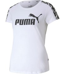 camiseta amplified tee w puma mujer 581218 02 blanco