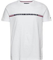 mini stripe tee t-shirts short-sleeved vit tommy hilfiger