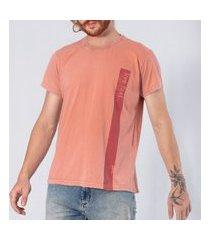 t-shirt tradicional gam gam rosa