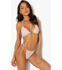 woman driehoekige bikini top