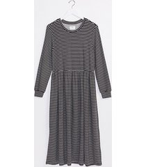 loft lou & grey striped signature softblend lite midi dress