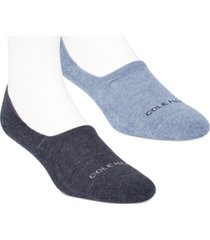 cole haan men's 2-pk. cushioned no-show socks