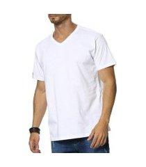camiseta vlcs basic branco masculino