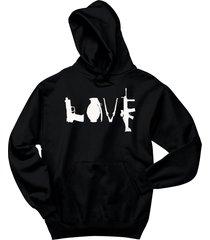 gun love t shirt pistol rifle 2nd amendment american pride hoodie