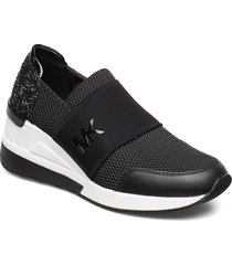 felix trainer låga sneakers svart michael kors shoes