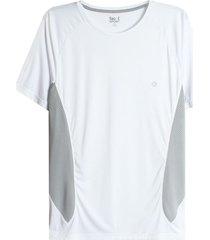 camiseta hombre con malla lateral