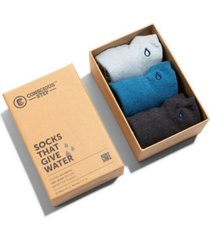 women's box of 3 ankle socks that provide water