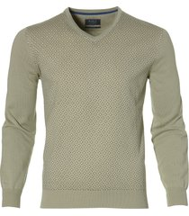 sale - nils pullover - extra lang - groen