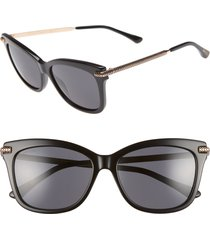 women's jimmy choo shade 55mm cat eye sunglasses -