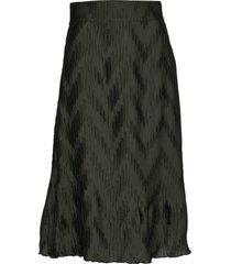 ella skirt deep knälång kjol grön twist & tango