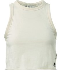 t-shirt adidas must haves recycled cotton crop tanktop