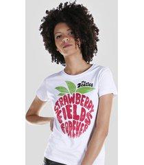 camiseta bandup! the beatles strawberry fields forever