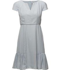 andrea dress korte jurk blauw by malina
