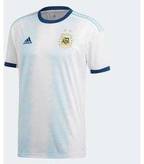 camiseta blanca adidas selección argentina