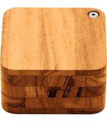 saleiro churrasco de madeira muiracatiara tramontina 13055100
