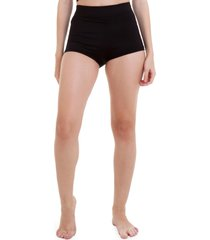 short manola hot pants preto - preto - feminino - dafiti