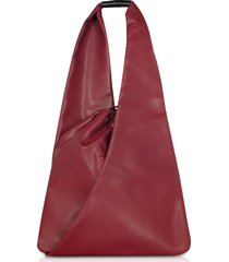 mm6 maison martin margiela designer handbags, japanese drawstring shoulder bag