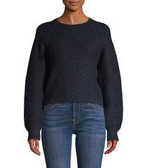 balloon-sleeve sweater