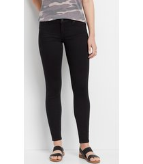 maurices womens denimflex™ black color jegging