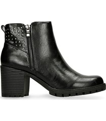 botines negro bata velena r mujer