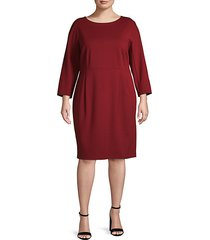 plus dolman-sleeve dress