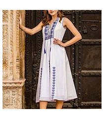 cotton dress, 'moroccan glamour' (india)