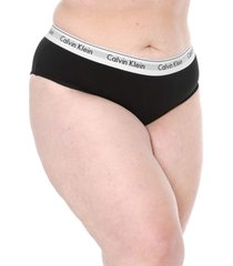 calcinha calvin klein underwear tanga modern preta