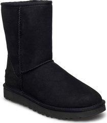w classic short ii shoes boots ankle boots ankle boot - flat svart ugg